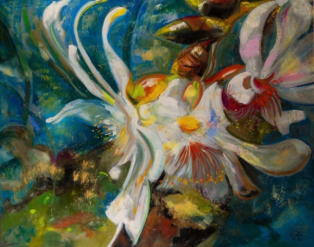 Die Baumblüte | Originalformat: 80x100cm  -  Produktionsjahr: 2009