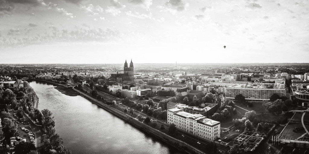 Magdeburg Skyline SW 2zu1