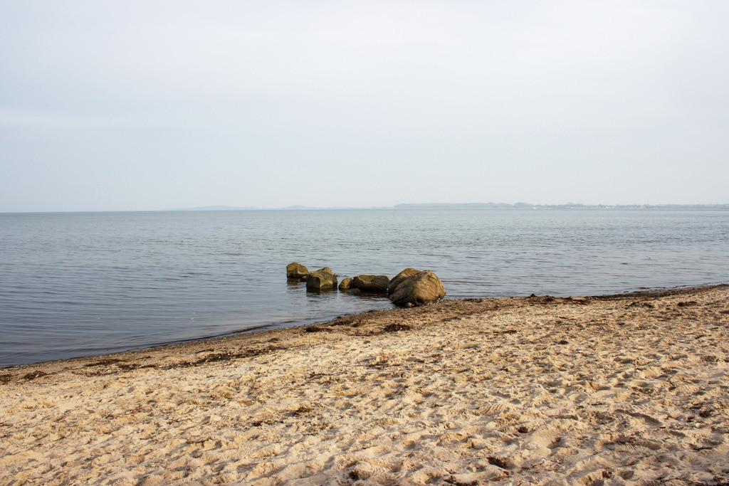 Strand in Ohrfeldhaff | Sandstrand in Ohrfeldhaff im Herbst