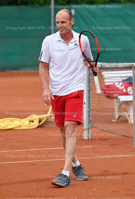 Tennis Hessische Meisterschaften Senioren SGA Darmstadt copyright by HEN-FOTO   Tennis Hessische Meisterschaften Senioren SGA Darmstadt 06.06.2021 Finale Markus Demmler SGA copyright by HEN-FOTO Peter Henrich