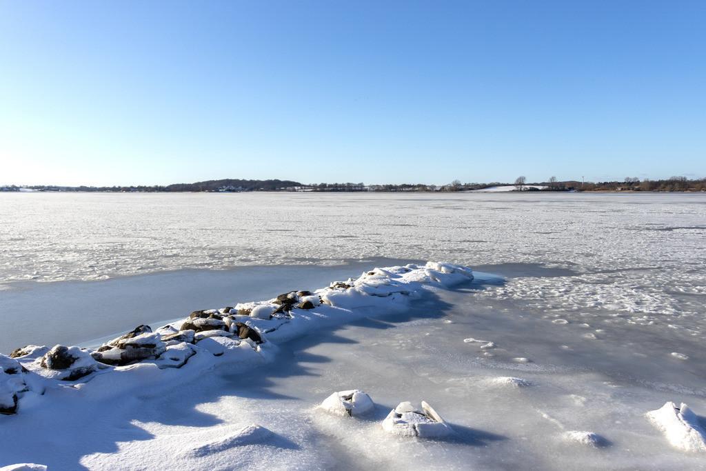 Sieseby an der Schlei | Winterliche Schlei in Sieseby