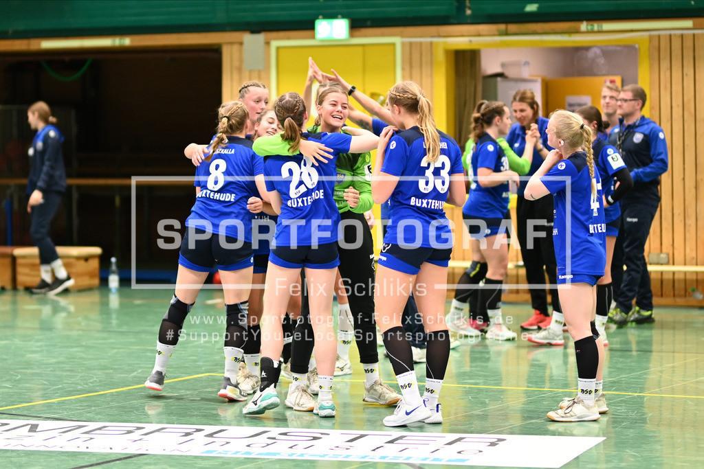 Handball I Bundesliga-Quali (wjA) I  Buxtehuder SV (wjA)- SG Hamburg-Nord I 11.10.2020_00115 | ; Jugend Bundesliga (wjA) I Buxtehuder SV (wjA)- SG Hamburg-Nord am 11.10.2020 in Buxtehude  (Sporthalle Kurt-Schuhmacher Strasse), Deutschland