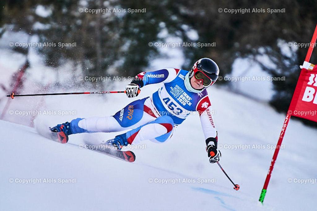 ALS5949_WWMG_GS-II_C | (C) FotoLois.com, Alois Spandl, WinterWorldMastersGames 2020 Innsbruck, Giant Slalom-II Gruppe C Damen, Patscherkofel Olympiaabfahrt, Mi 15. Jänner 2020.