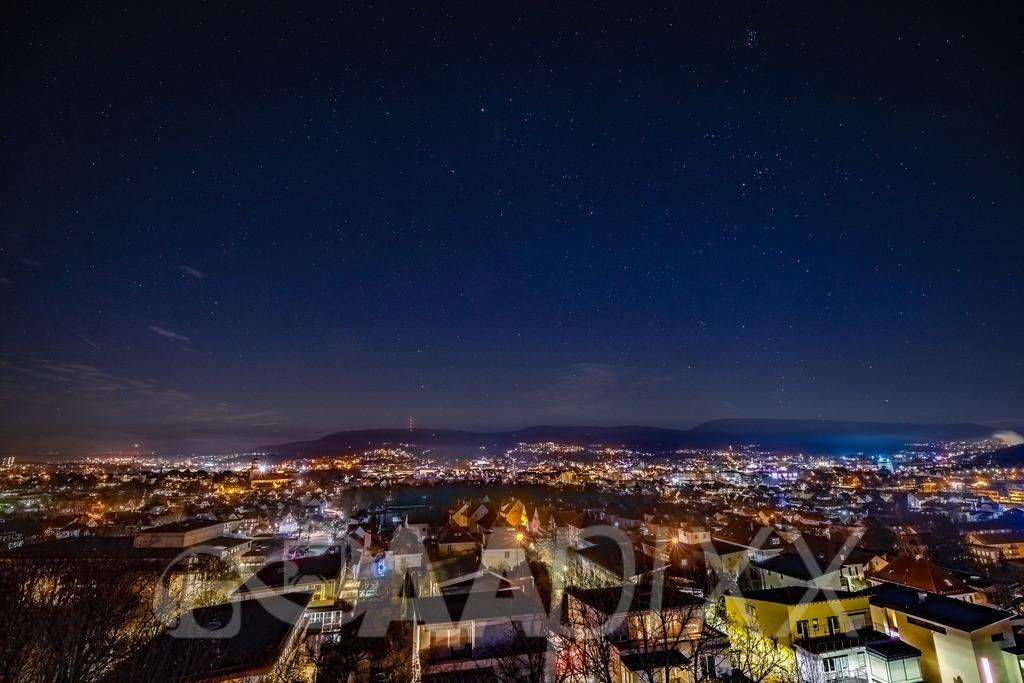 Aalen City | Blick von der Schillerhöhe Richtung Osten