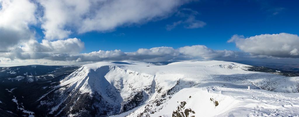 rk_04492 | Blick von der Schneekoppe im Riesengebirge in Tschechien.