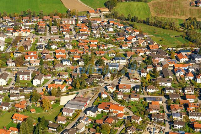 luftbild-teisendorf-bruno-kapeller-44 | Luftaufnahme von Teisendorf im Herbst 2019