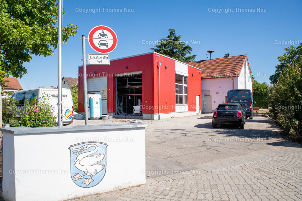 DSC_9955 | Bensheim,bbe,Stadtteil Schwanheim, ,Feuerwehrhaus neuer Anbau, umstrittenes Proojekt, , Bild: Thomas Neu