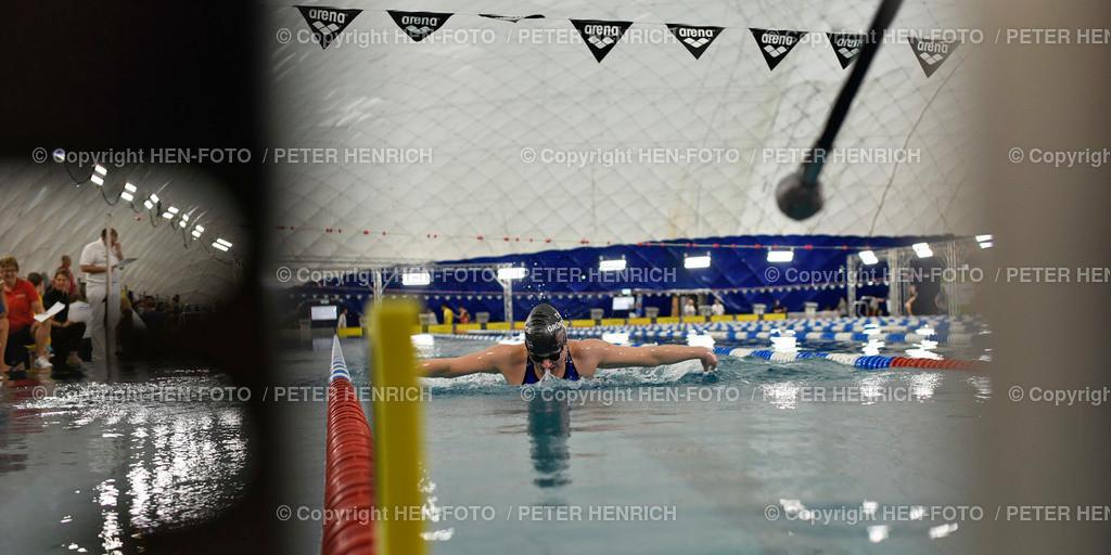 Int. Offene Süddeutsche Schwimm-Meisterschaften 2020 copyright HEN-FOTO | Internationale Offene Süddeutsche Schwimm-Meisterschaften 2020 Nordbad Darmstadt blind Janine Gallisch SG Dortmund 200m Schmetterling copyright + Foto: Peter Henrich (HEN-FOTO)