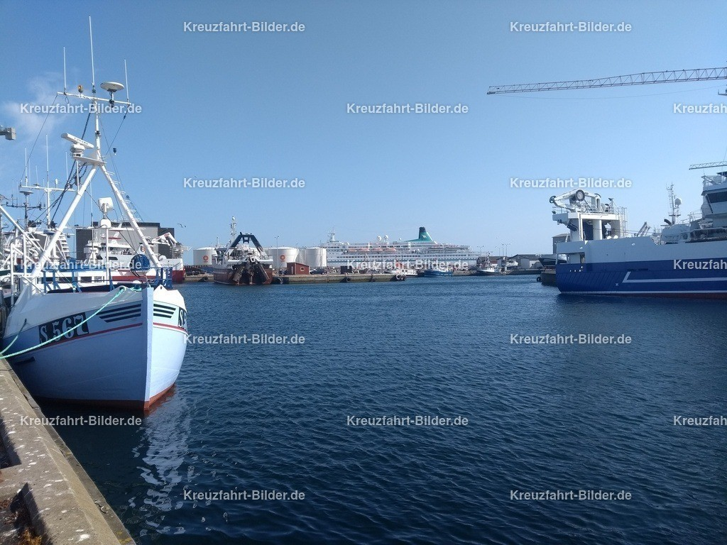 MS Albatros in Skagen | MS Albatros im Hafen von Skagen