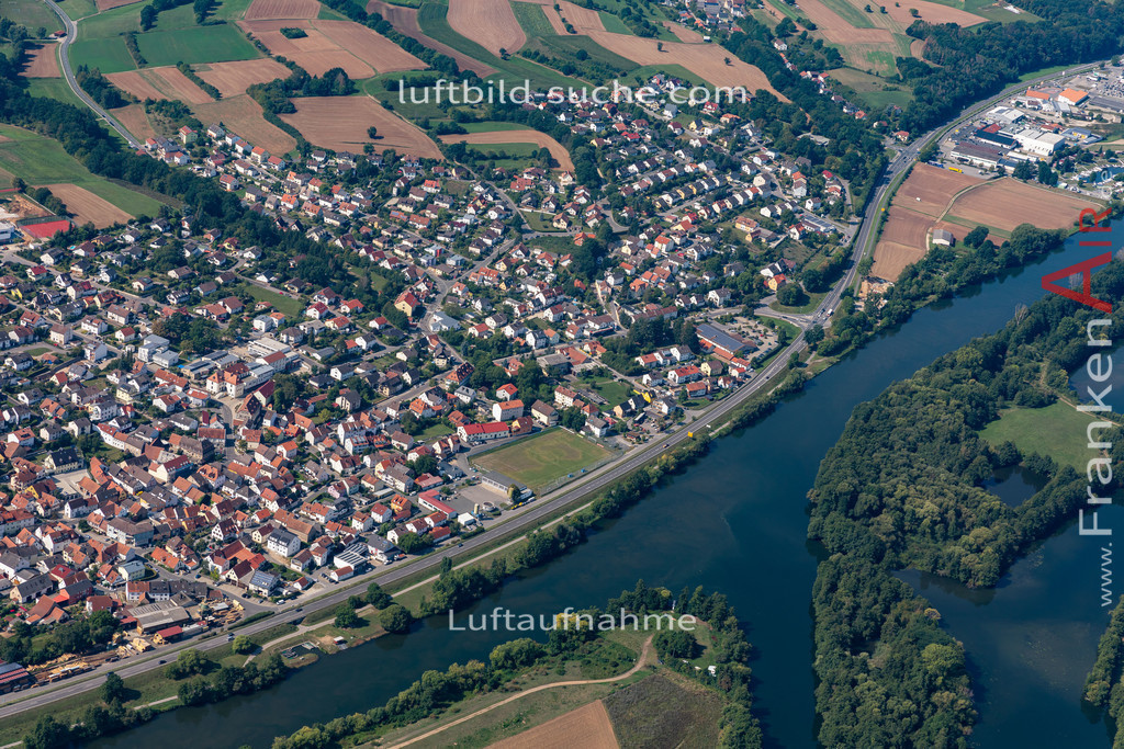 bischberg-19-298 | aktuelles Luftbild von  Bischberg - Luftaufnahme wurde 2019 von https://frankenair.de mittels Flugzeug (keine Drohne) erstellt.