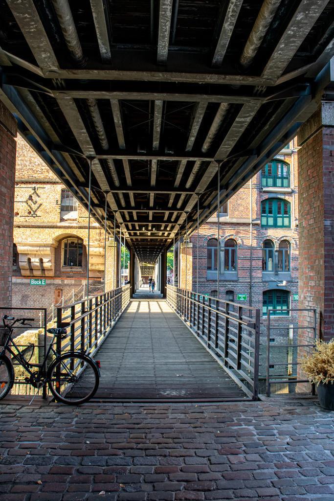 Speicherstadt | Brücke in Hamburgs Speicherstadt