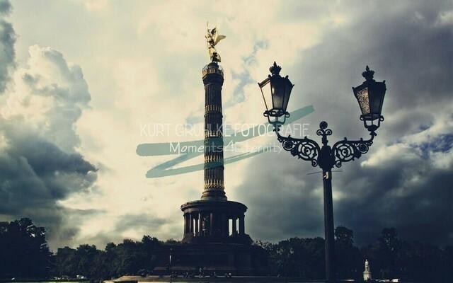 Berlin, Gold Else | Siegessäule Berlin, Storm is comming