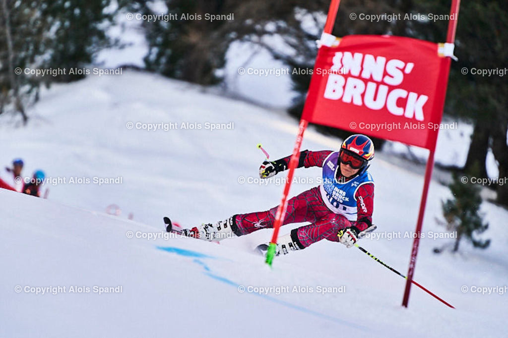 ALS5974_WWMG_GS-II_C | (C) FotoLois.com, Alois Spandl, WinterWorldMastersGames 2020 Innsbruck, Giant Slalom-II Gruppe C Damen, Patscherkofel Olympiaabfahrt, Mi 15. Jänner 2020.