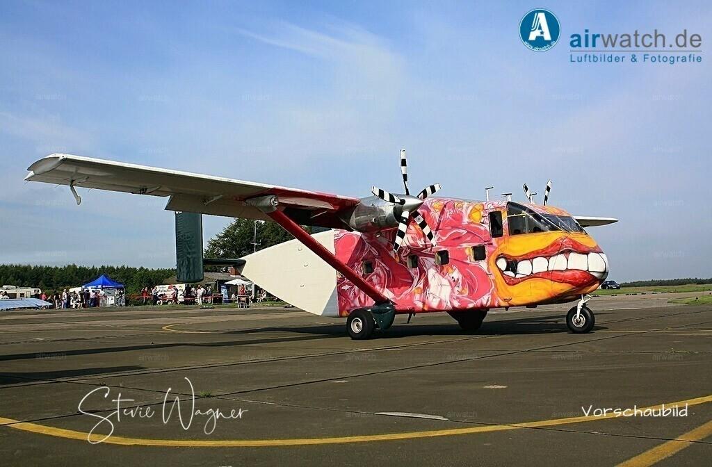 Flying Shoebox - Short S.C.7 Skyvan auf dem Flugplatz Husum-Schwesing   Flughafen Husum, Skyvan SC7, Flying Shoebox • max. 4272 x 2848 pix