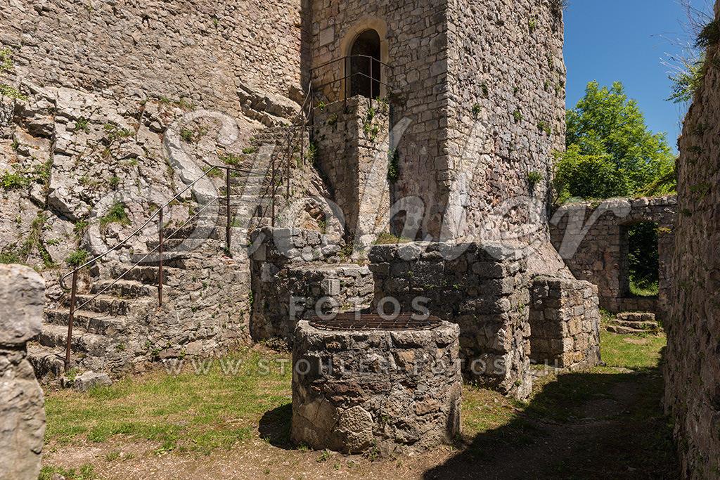 Ruine Waldenburg (BL) | Die Ruine war eine Festung der Frohburger, Waldenburg im Kanton Baselland.
