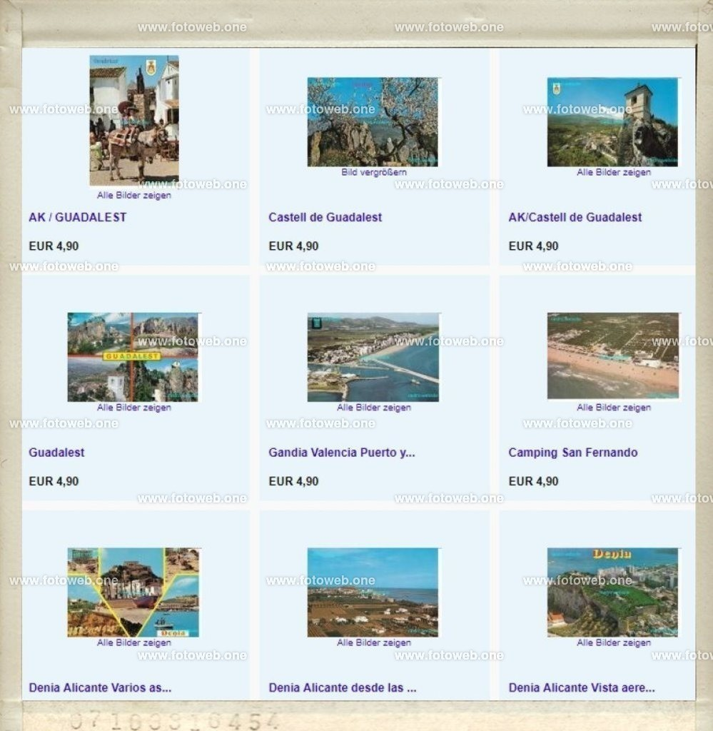 Postkarten   Postkarten Verkauf