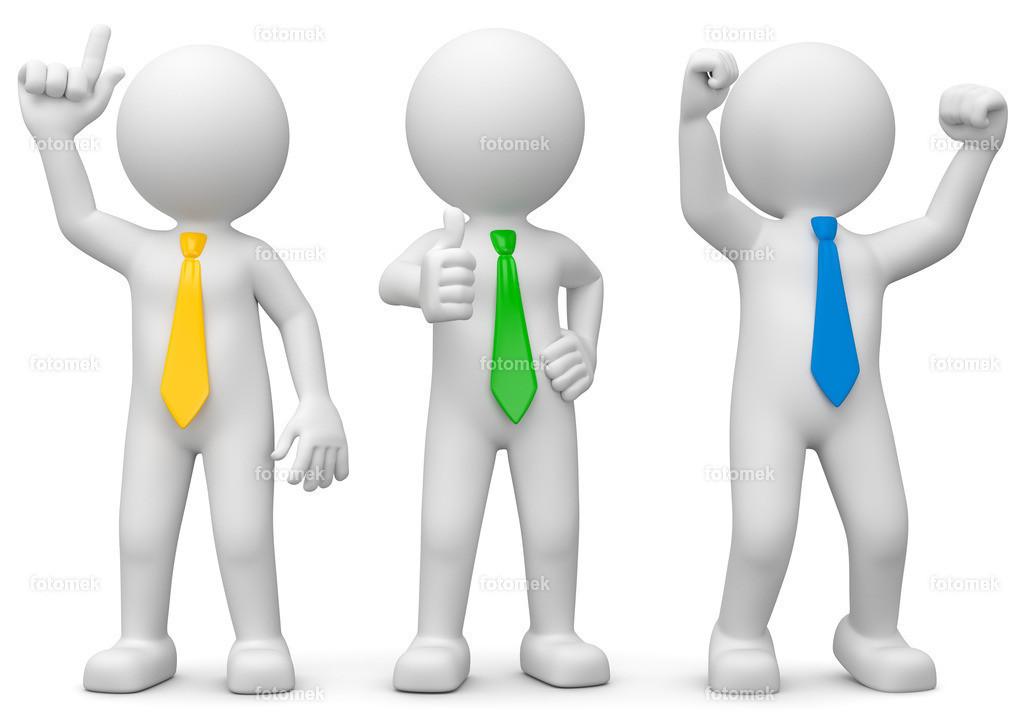 3D Männchen Idee - Zustimmung - Erfolg | 3d Männchen mit Idee, Zustimmung und Erfolg