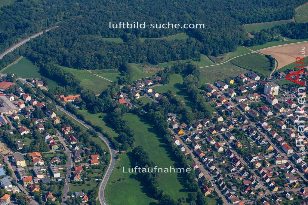 uffenheim-19-755 | aktuelles Luftbild von  Uffenheim - Luftaufnahme wurde 2019 von https://frankenair.de mittels Flugzeug (keine Drohne) erstellt.