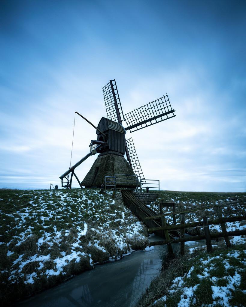 The Mill | Die Schöpfmühle in Honigfleth an einem Nachmittag im Winter