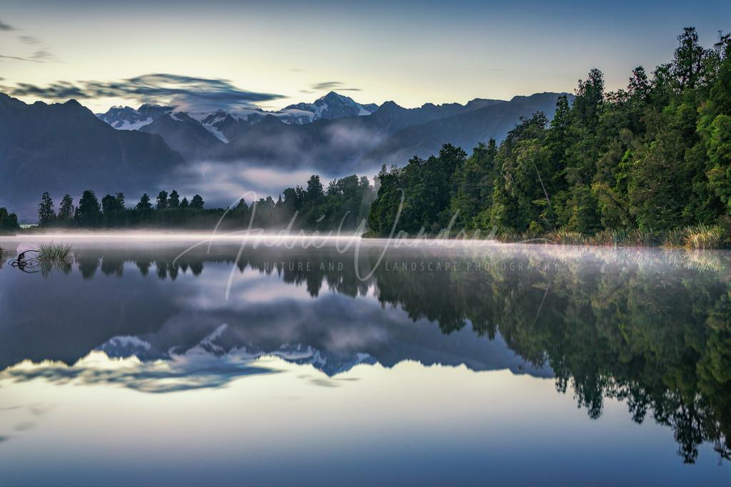 Morgennebel am Spiegelsee