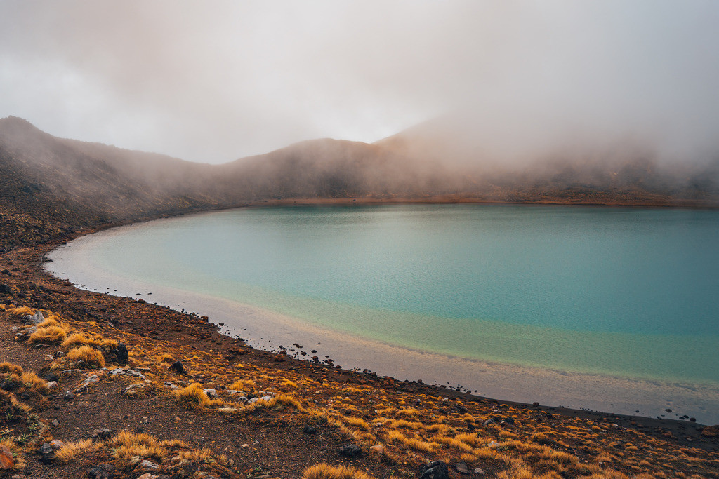 Blauer See im Tongariro Nationalpark | Blauer See im Tongariro Nationalpark