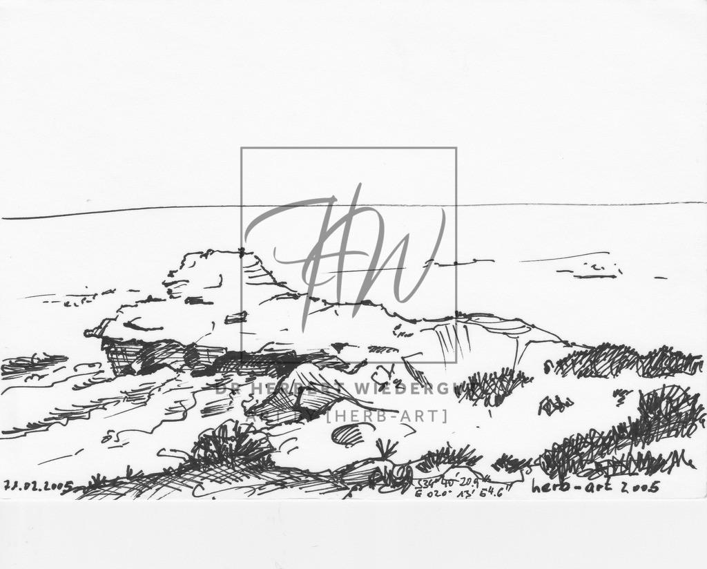 Fels an der Küste von Arniston   Fels an der Küste von Arniston, einem kleinen Fischerdorf am Indischen Ozean an der Ostküste Südafrikas. GPS-Daten.