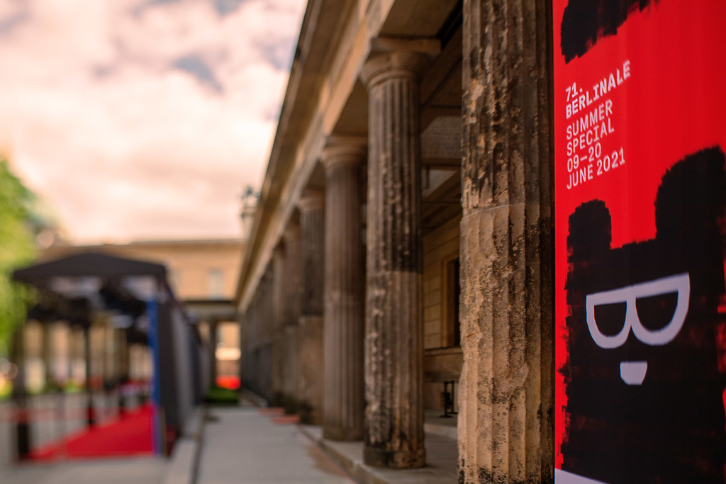 berlinale_altes_museum   Berlinale - Vorbereitungen zur Preisverleihung - Location Altes Museum - Museumsinsel Berlin