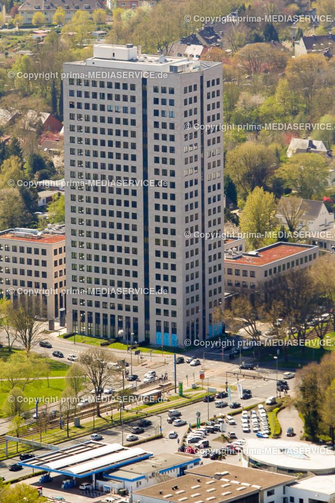 20150421-21.04.2015 Luftbilder Fotoflug Dortmund | 21.04.2015 in Dortmund (Nordrhein-Westfalen, Deutschland) Luftbilder Fotoflug Dortmund Westfalentower an der B1  Foto: Michael Printz / PHOTOZEPPELIN.COM