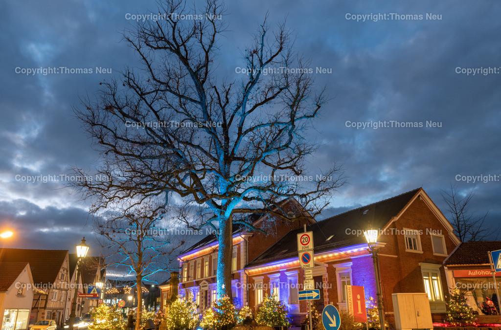 DSC_4124 | ble,Lorsch, blaues Weihnachtswunder, Innenstadt, ,, Bild: Thomas Neu