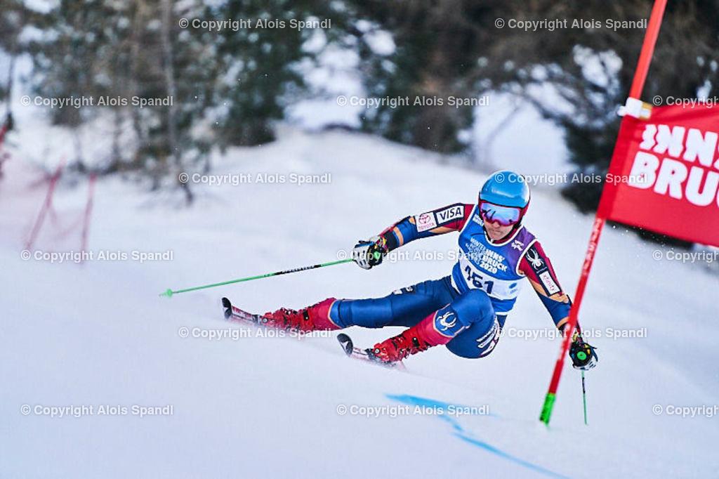 ALS5928_WWMG_GS-II_C | (C) FotoLois.com, Alois Spandl, WinterWorldMastersGames 2020 Innsbruck, Giant Slalom-II Gruppe C Damen, Patscherkofel Olympiaabfahrt, Mi 15. Jänner 2020.