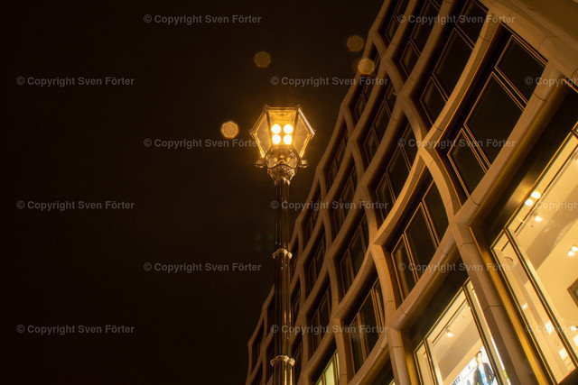 At night in Berlin