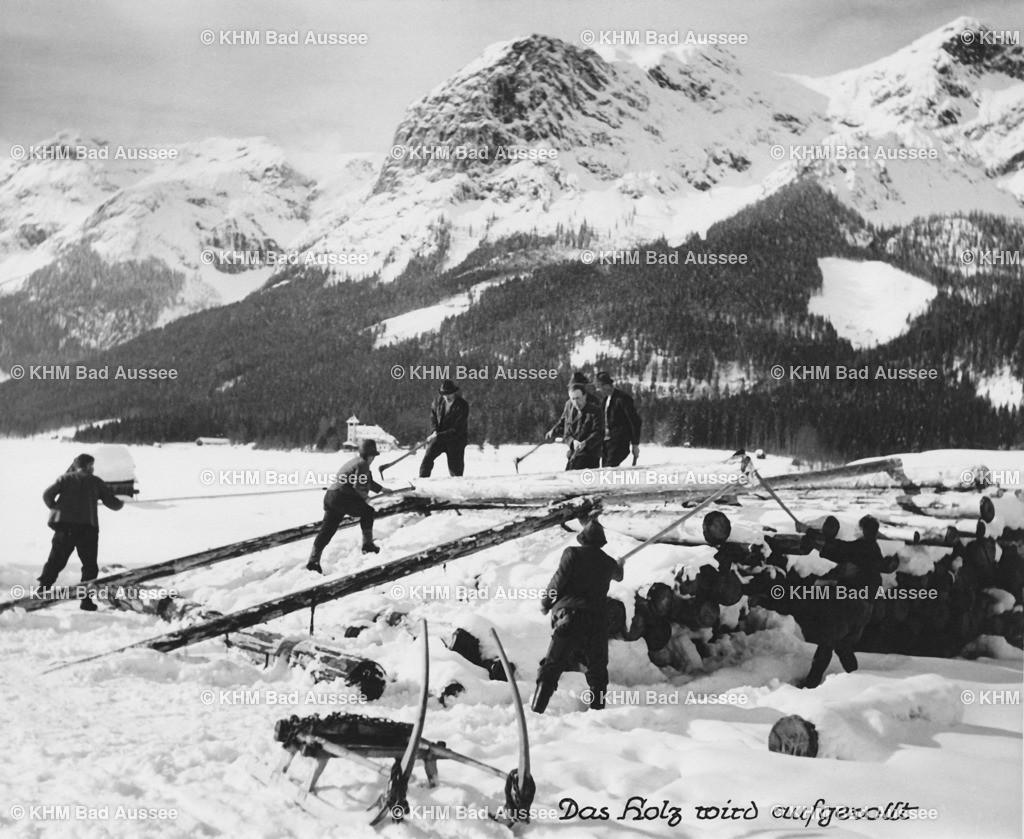 Holzknechte_Winter_06 | Holztransport im Winter 6