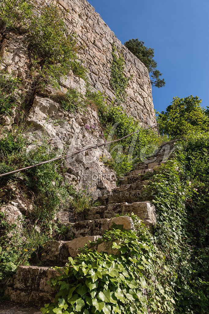 Ruine Rifenstein, Reigoldswil (BL)   Aufstieg zur Ruine Rifenstein, Reigoldswil im Kanton Baselland.