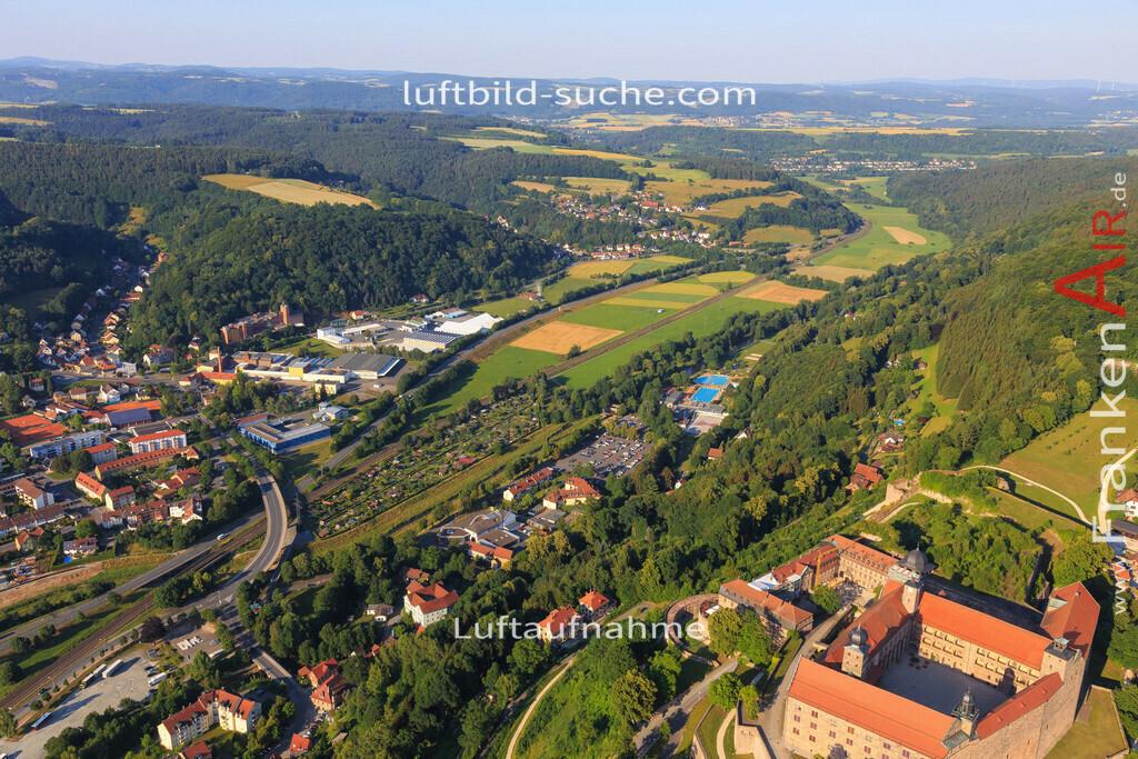 kulmbach-2015-1787 | Luftbild von  Kulmbach - Luftaufnahme wurde 2015 von https://frankenair.de mittels Flugzeug (keine Drohne) erstellt - die Geschenkidee