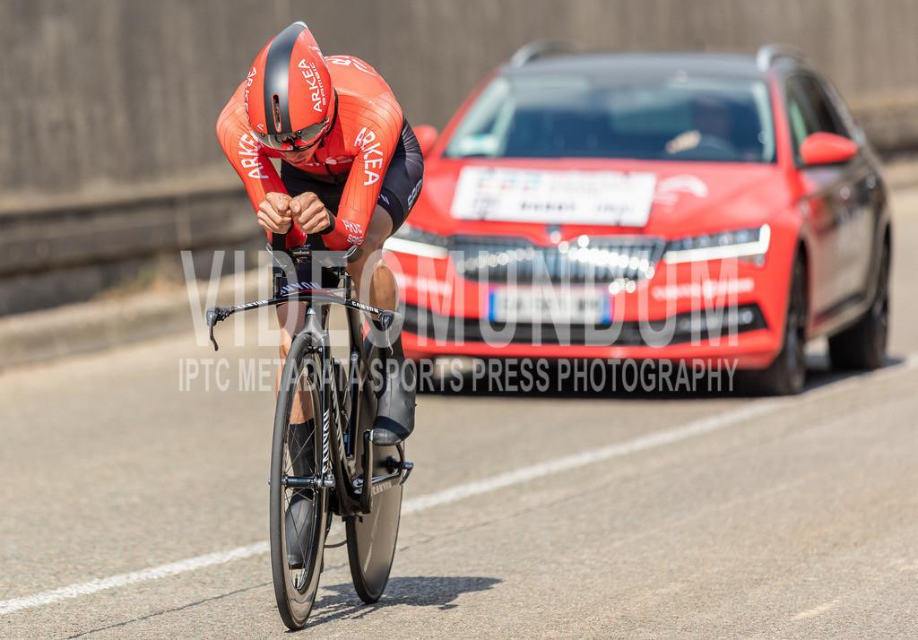 81st Skoda-Tour de Luxembourg 2021   81st Skoda-Tour de Luxembourg 2021, Stage 4 ITT Dudelange - Dudelange; Dudelange, 17.09.2021: HARDY Romain (Team Arkéa Samsic, 164)