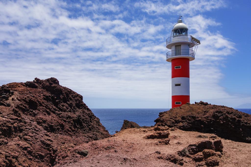 Der Leuchtturm Faro de Teno auf Teneriffa | Der Leuchtturm Faro de Teno auf Teneriffa.