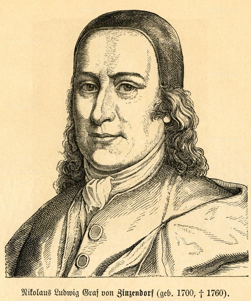 Nikolaus Ludwig Graf von Zinzendorf / Nicolaus Zinzendorf | Europa, Deutschland, Sachsen, Dresden, Nikolaus Ludwig Graf von Zinzendorf, Theologe, Motiv aus :