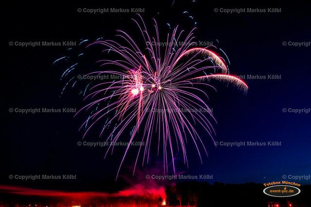 Karlsfelder Siedlerfest 2018 - Feuerwerk-26