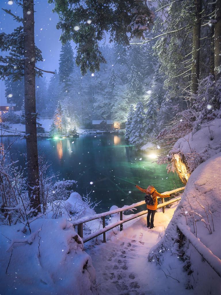 White Delight | Switzerland winter wonderland.