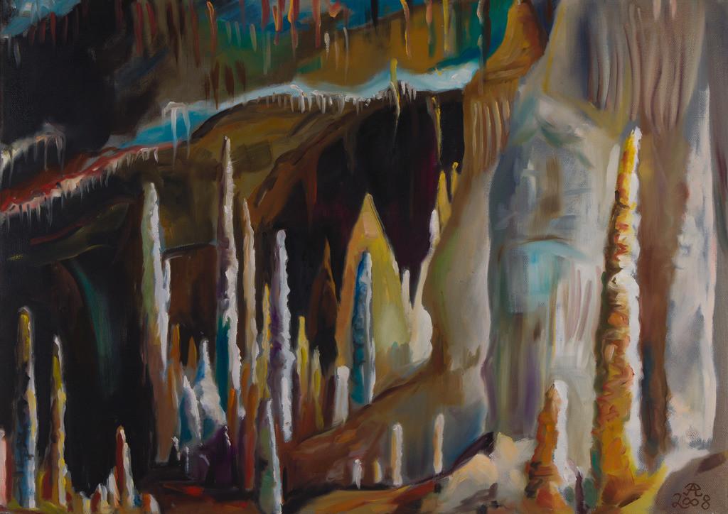 Grotta die Frassasi - Saal der Unendlichkeit | Originalformat: 50x70cm  -   Produktionsjahr: 2008