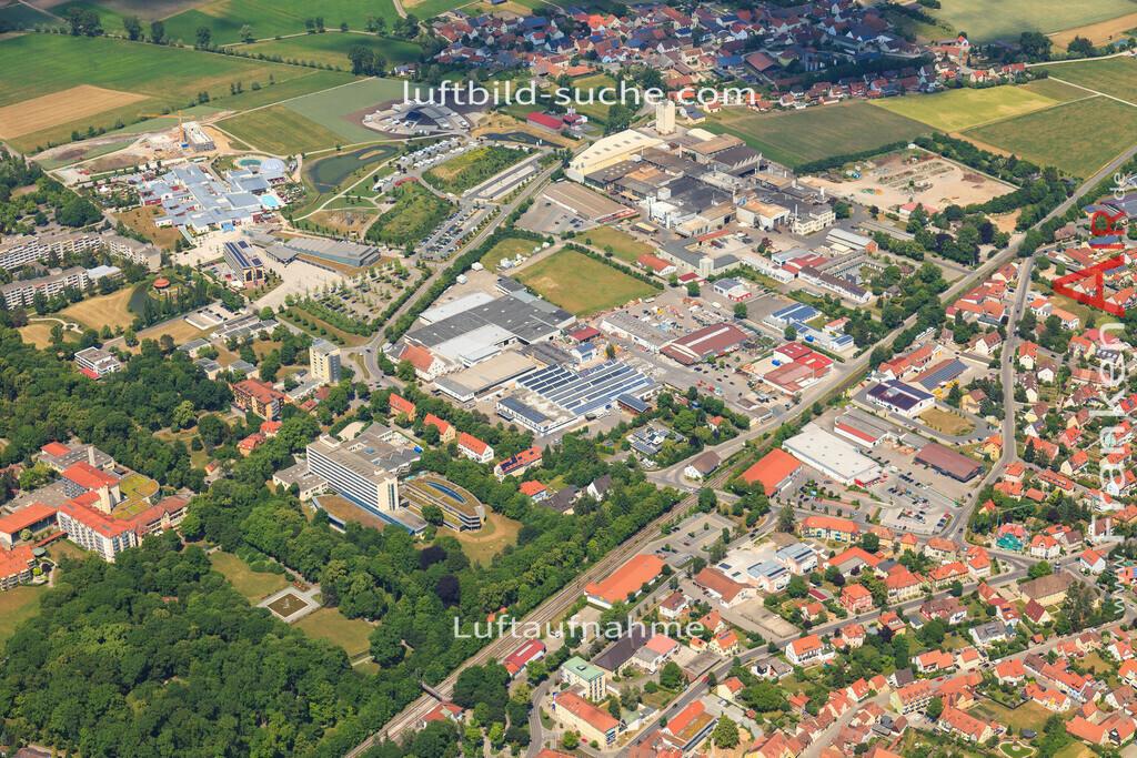 franken-therme-bad-windsheim-2015-1407   Luftbild von Franken-therme Bad-windsheim - Luftaufnahme wurde 2015 von https://frankenair.de mittels Flugzeug (keine Drohne) erstellt - die Geschenkidee