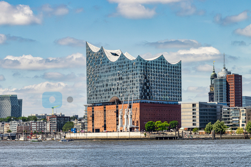 Elbphilharmonie | Elbphilharmonie, Hamburg, Architektur, Stadt, Wahrzeichen, Elbe
