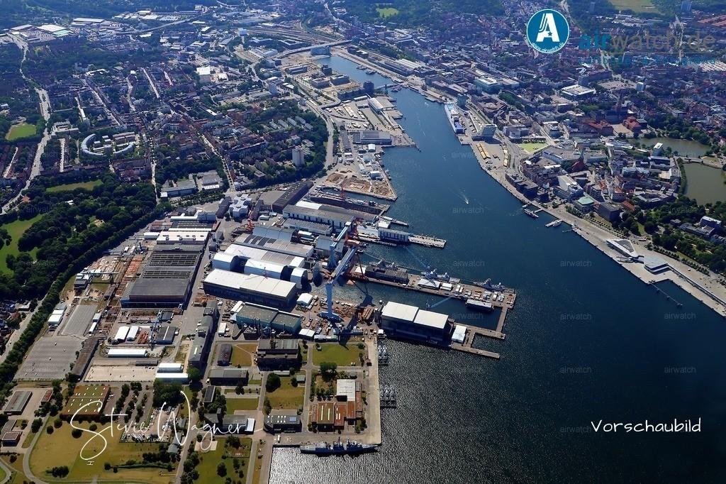 Kiel-Ellerbek, Kiel-Gaarden-Ost, German Naval Yards, Ellerbek, Altstadt, Ostseekai   Kiel-Ellerbek, Kiel-Gaarden-Ost, German Naval Yards, Ellerbek, Altstadt, Ostseekai