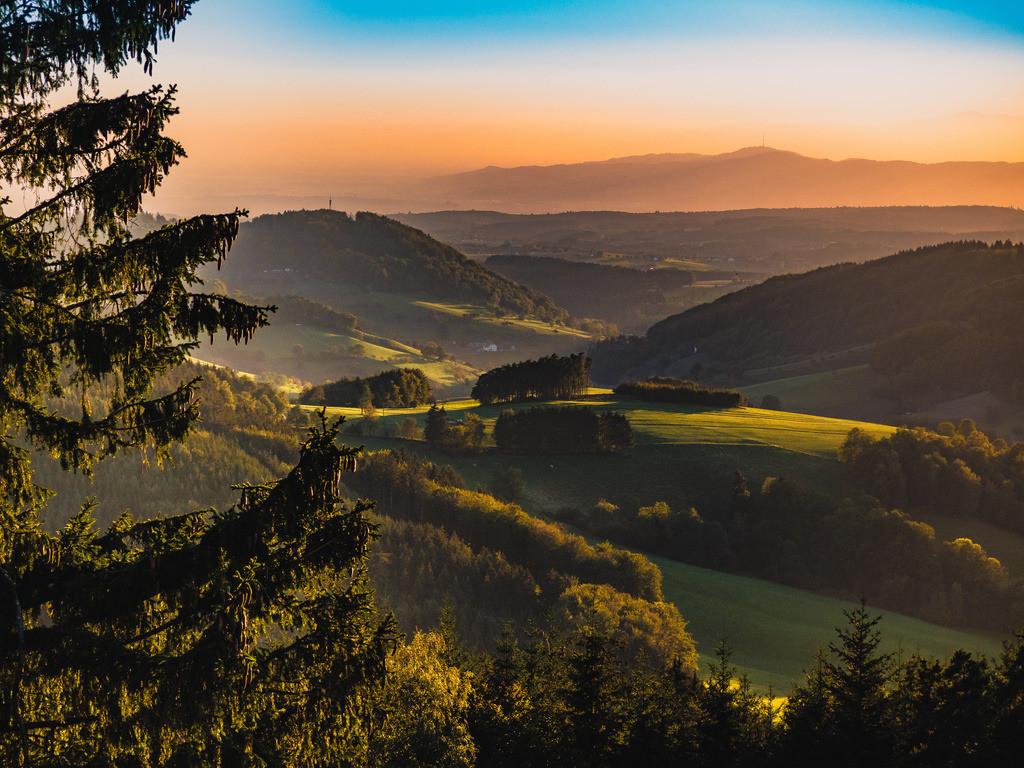 Schwarzwaldromantik | Schwarzwald bei Freiamt im schönsten Herbstlicht