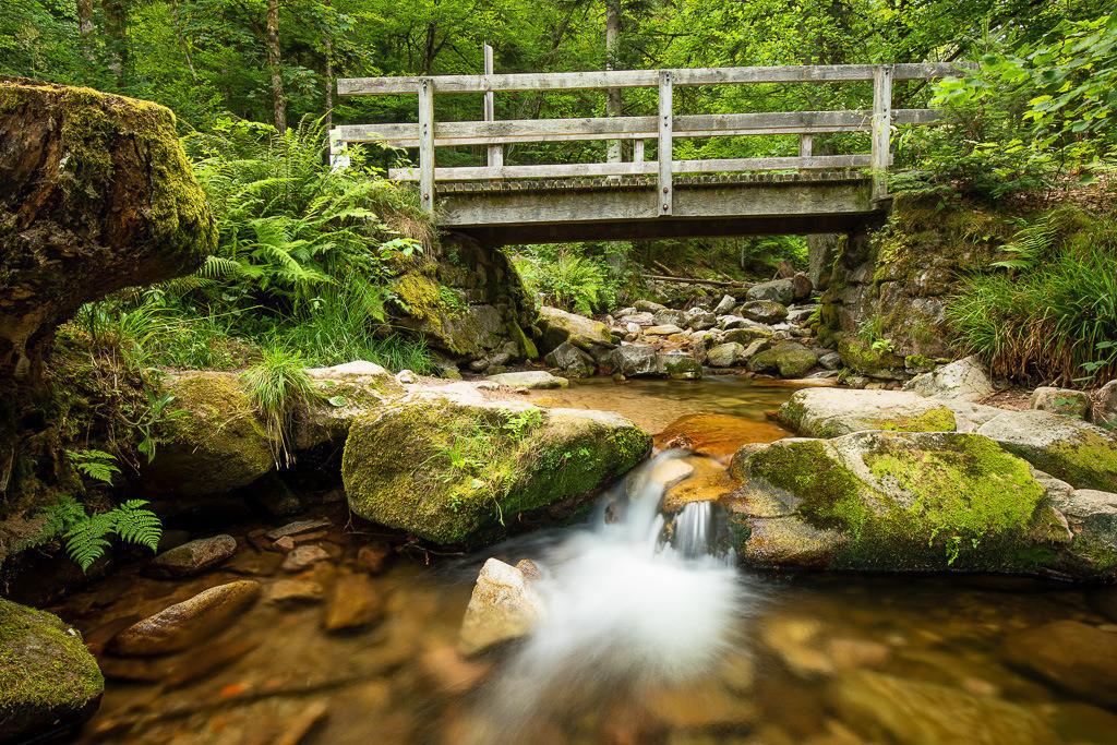 Brücke Wasserfälle Allerheiligen