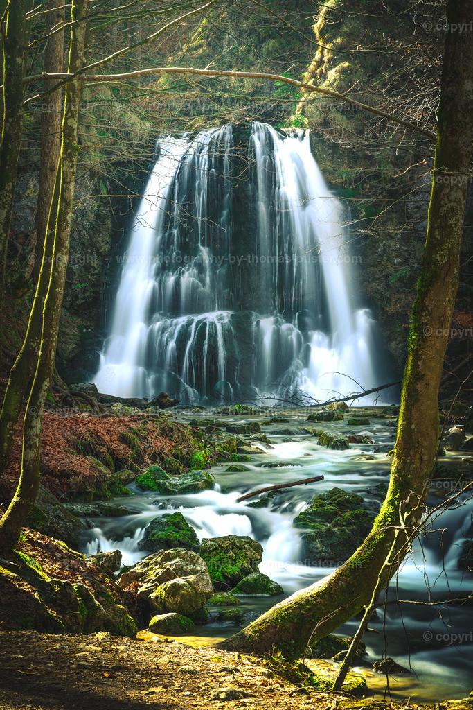 Josefsthaler Wasserfall Bayern