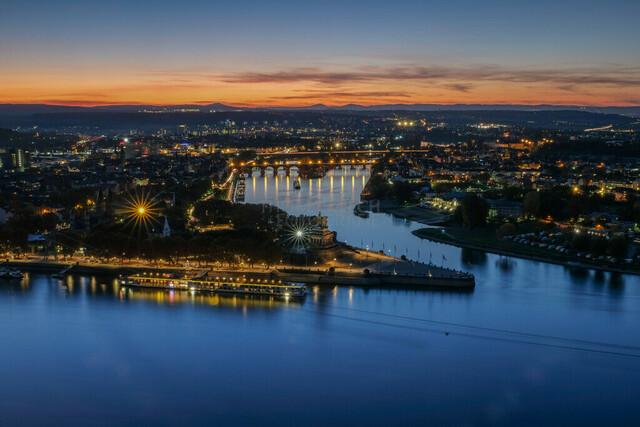 Koblenz Nightscape