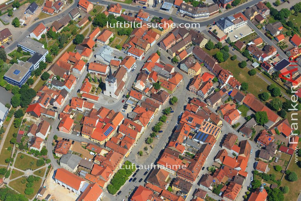 schluesselfeld-2015-1629 | Luftbild von  Schluesselfeld - Luftaufnahme wurde 2015 von https://frankenair.de mittels Flugzeug (keine Drohne) erstellt - die Geschenkidee