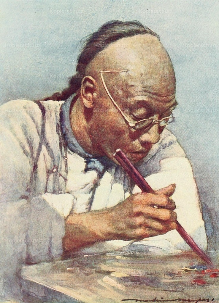 Menpes_ Mortimer (1855-1938) - China 1909 - Chopsticks