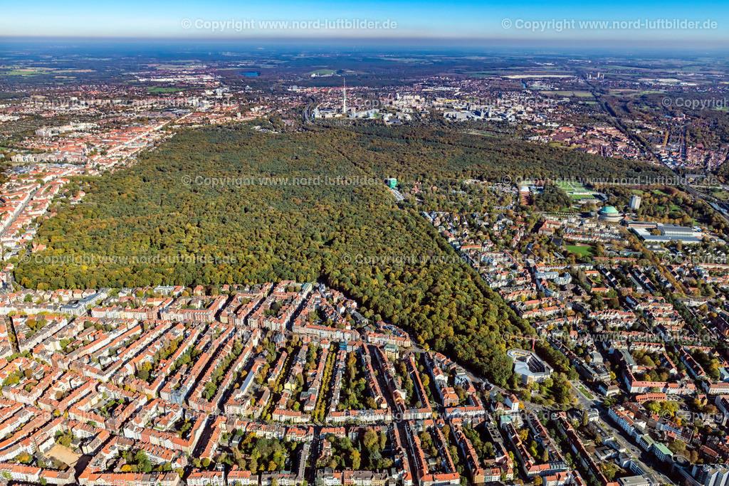 Hannover_Eilenriede_ELS_7129151017 | Hannover - Aufnahmedatum: 15.10.2017, Aufnahmehöhe: 625 m, Koordinaten: N52°22.617' - E9°44.466', Bildgröße: 7968 x  5312 Pixel - Copyright 2017 by Martin Elsen, Kontakt: Tel.: +49 157 74581206, E-Mail: info@schoenes-foto.de  Schlagwörter:Hannover,Luftbild, Luftbilder, Deutschland